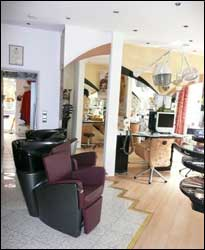 Foto unseres Salonsesels